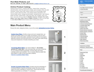 purewaterproducts.com screenshot