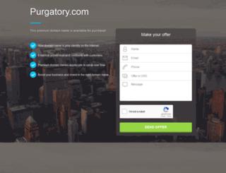 purgatory.com screenshot