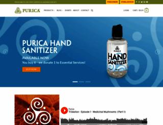 purica.com screenshot