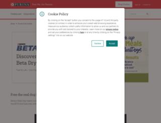 purina-beta.co.uk screenshot