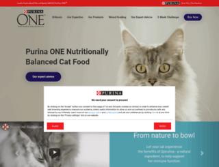 purinaone.co.uk screenshot