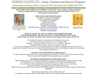 puritanvalues.co.uk screenshot