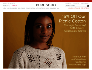 purlsoho.com screenshot