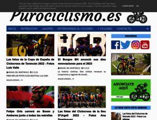 puro-ciclismo.blogspot.com.es screenshot