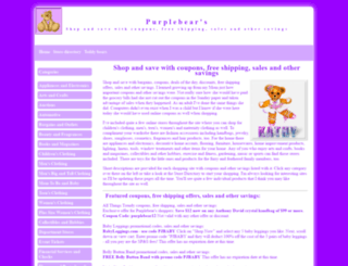 purplebearsshopnearn.com screenshot