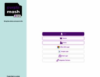 purplemash.com screenshot