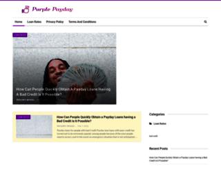 purplepayday.loan screenshot