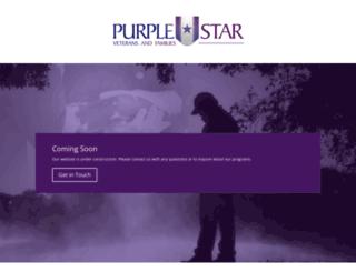 purplestarveterans.org screenshot