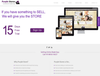 purplestores.in screenshot