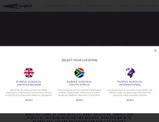 purplesurgical.com screenshot