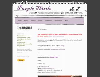 purplethistle.ca screenshot