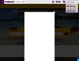 purpletravel.co.uk screenshot