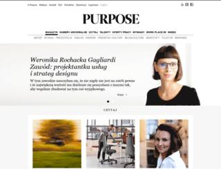 purpose.com.pl screenshot