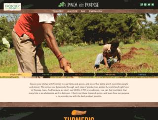 purpose.frontiercoop.com screenshot