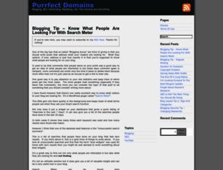 purrfectdomains.com screenshot