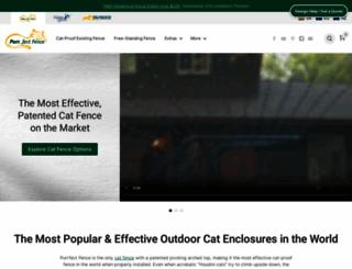 purrfectfence.com screenshot