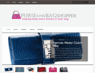purseandbagshopper.com screenshot