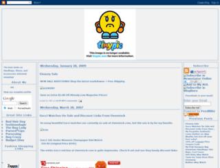 pursedeals.blogspot.com screenshot