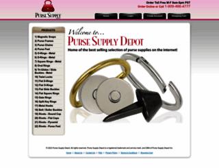 pursesupplydepot.com screenshot