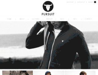 pursuit.mldemo.co.uk screenshot