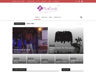 puryearth.com screenshot