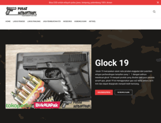 pusatairsoftgun.com screenshot