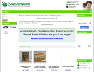 pusatjamu.com screenshot