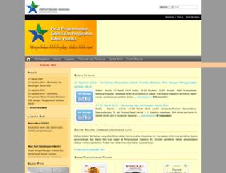 pusbangkol.pnri.go.id screenshot