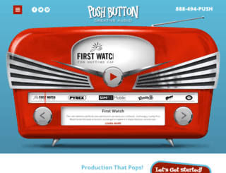 pushbuttonproductions.com screenshot