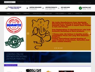 pushpaintl.com screenshot
