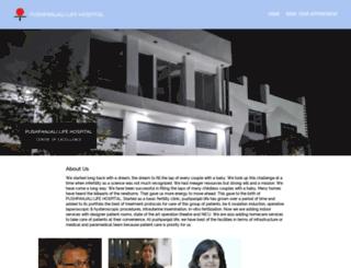 pushpanjalilife.com screenshot