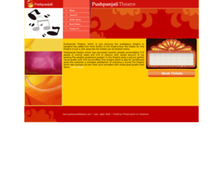 pushpanjalitheatre.com screenshot