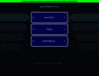 pushtotest.com screenshot