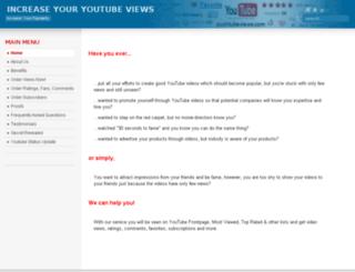 pushtubeviews.com screenshot