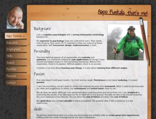 puskala.fi screenshot