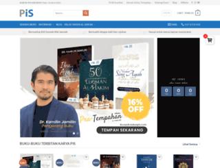 pustakailmusalaf.com screenshot