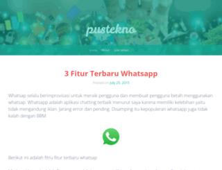 pustekno.wordpress.com screenshot