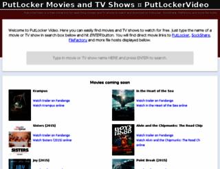 putlockervideo.com screenshot