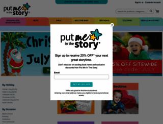 putmeinthestory.com screenshot