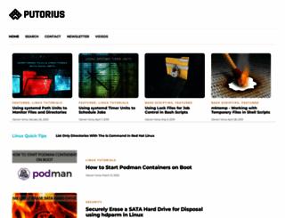 putorius.net screenshot