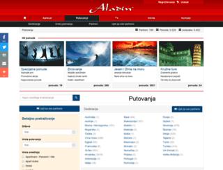 putovanja.aladin.info screenshot