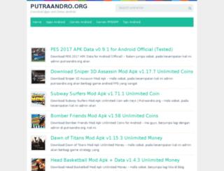 putraandro.com screenshot