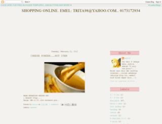 putriazelia.blogspot.com screenshot