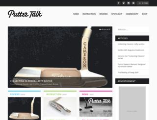 puttertalk.com screenshot