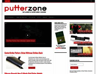putterzone.com screenshot