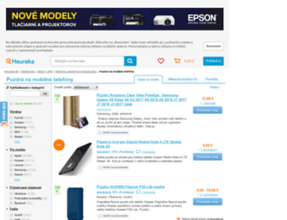 puzdra-na-mobilne-telefony.heureka.sk screenshot