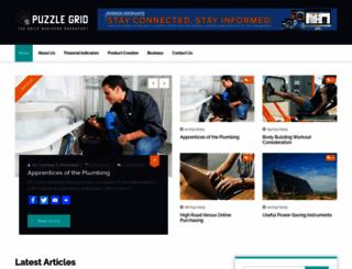 puzzlegrid.com screenshot