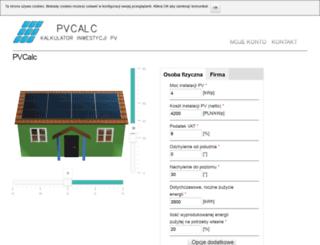 pvcalc.pl screenshot