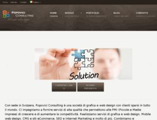 pvconsult.ch screenshot