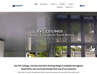 pvcsa.co.za screenshot